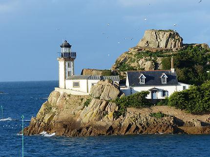 Le petit phare de l'Île Louët