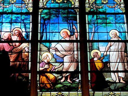 Vitrail de l'Eglise Saint-Médard