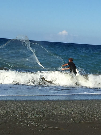 Pêcheur à Baracoa