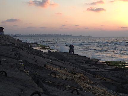 Les amoureux de la Corniche