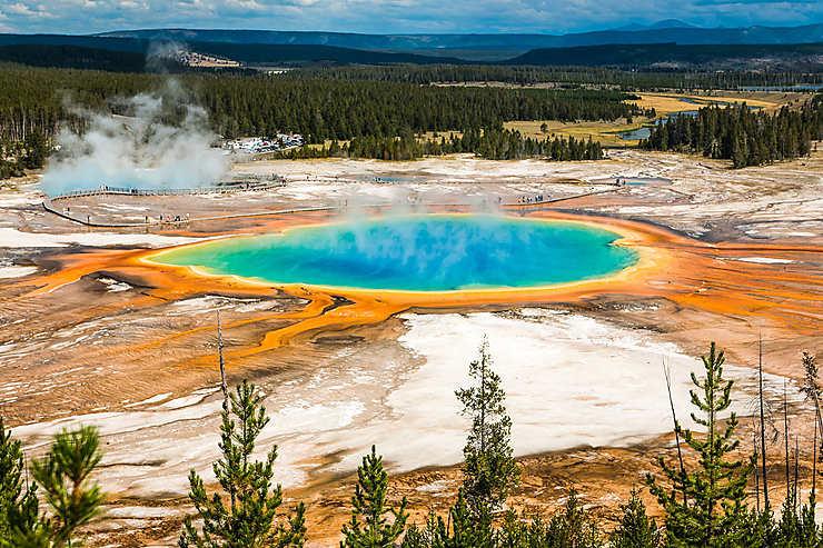 Parc national de Yellowstone (Wyoming, Montana, Idaho)