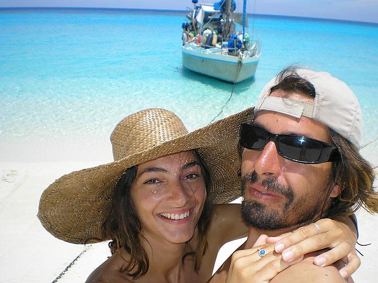 Morgane et Grégory - Rencontre sur une île du Pacifique