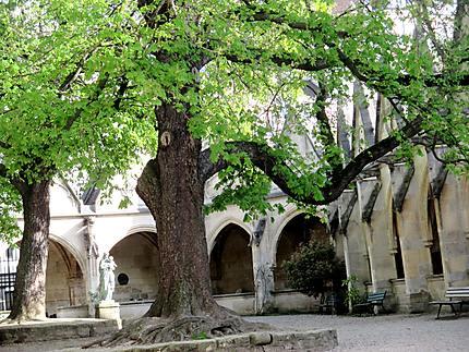 Le cloitre de l'église Saint Séverin