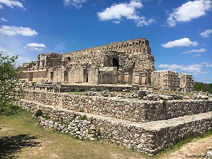 Le palais des masques ou Codz Poop - ruines de Kab