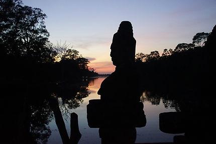 Profil à Angkor