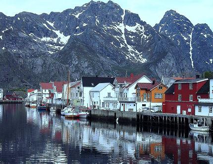 Les Iles Lofoten, Île d'Austvågøy, Norvège