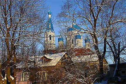 Une église à Gatchina