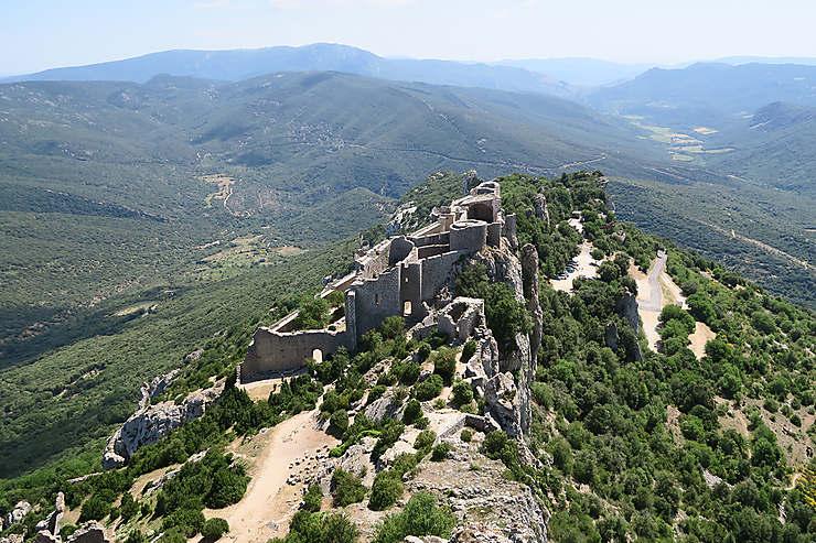 Le Pays cathare, d'un château à l'autre