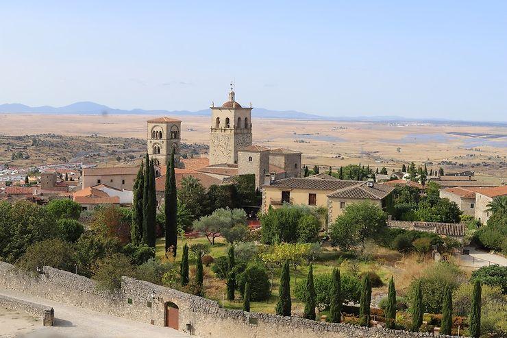 Village en Estremadure, Espagne