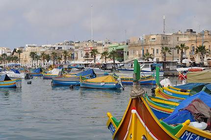 Port de pêcheur de Marsaxlokk