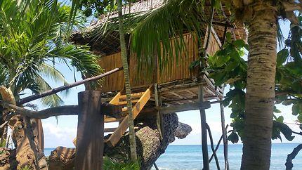 Un gite haut perché avec vue sur la mer à Palawan