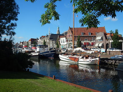 Magnifique ville d'Enkhuizen