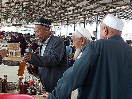 Khiva : achat d'huile de coton