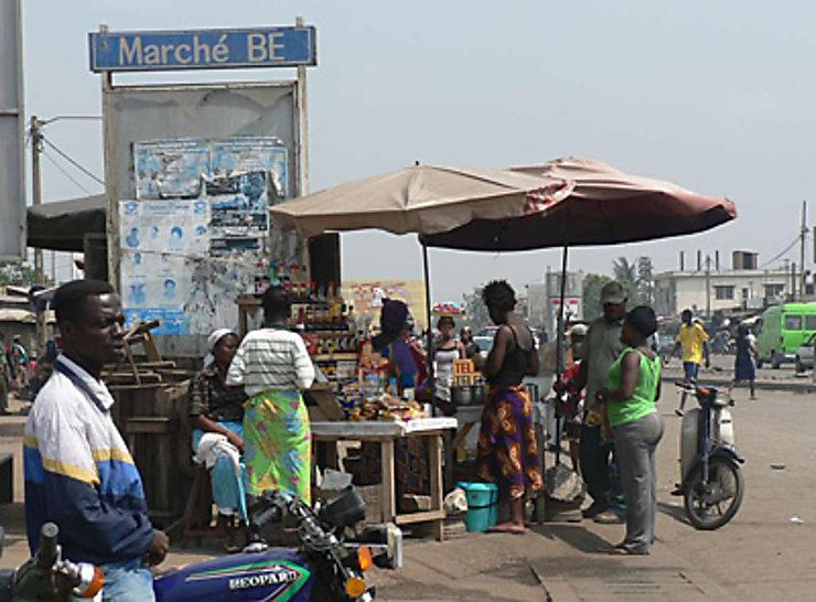 Sur les marchés de Lomé