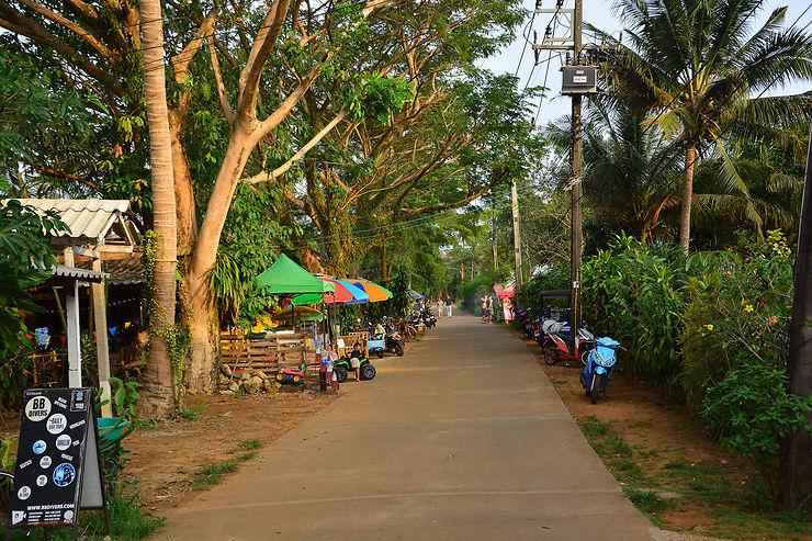 Ko Mak, l'île tranquille
