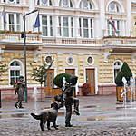 Place de la mairie de Szolnok