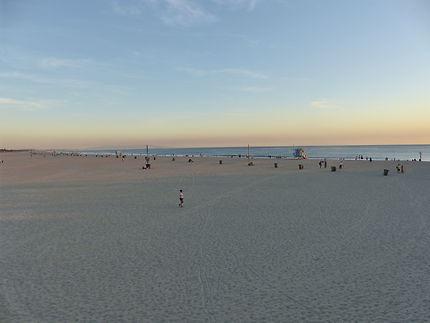 Espace Monica beach