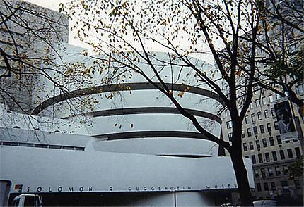 Célèbre et original musée Guggenheim