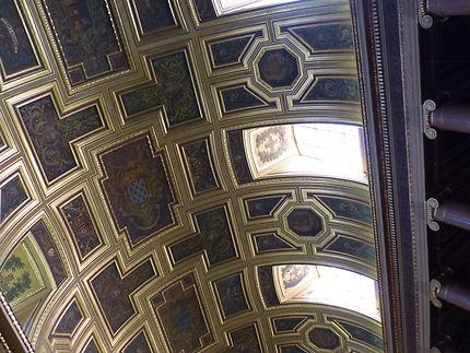 Peintures du plafond de la cathédrale de Rennes