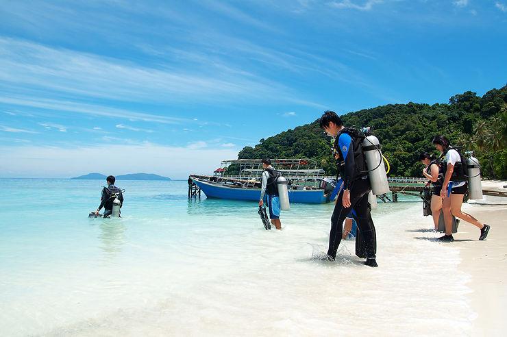 Redang, l'aquarium à touristes