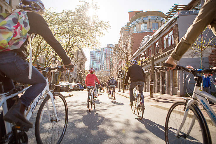 Canada - Des vélos en libre-service à Vancouver