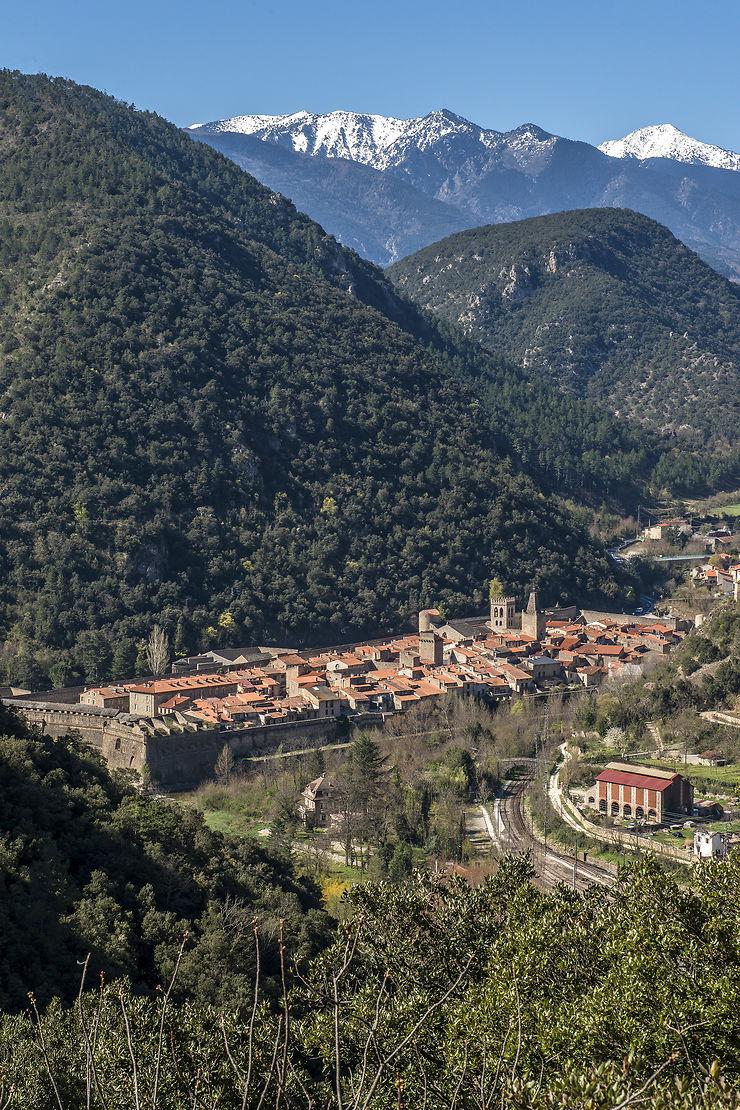 Site de Villefranche-de-Conflent, Pyrénées-Orientales