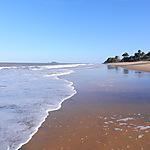 La plage en Guyane