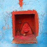 Ganesh dans le mur