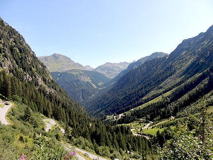 La vallée de Silvretta-Stausee, Autriche