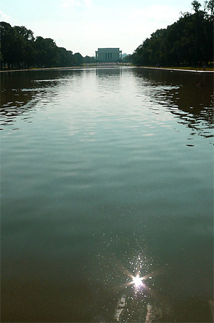 Reflecting Pool, Lincoln Monument