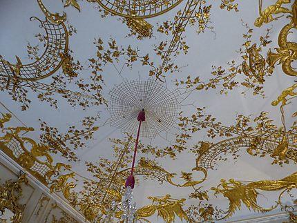 Plafond toile d'araignée