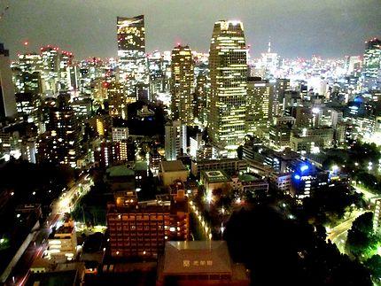 Vue nocturne, Tokyo Tower