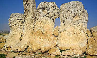 Temples de Hagar Qim et de Mnajdra (île de Malte)