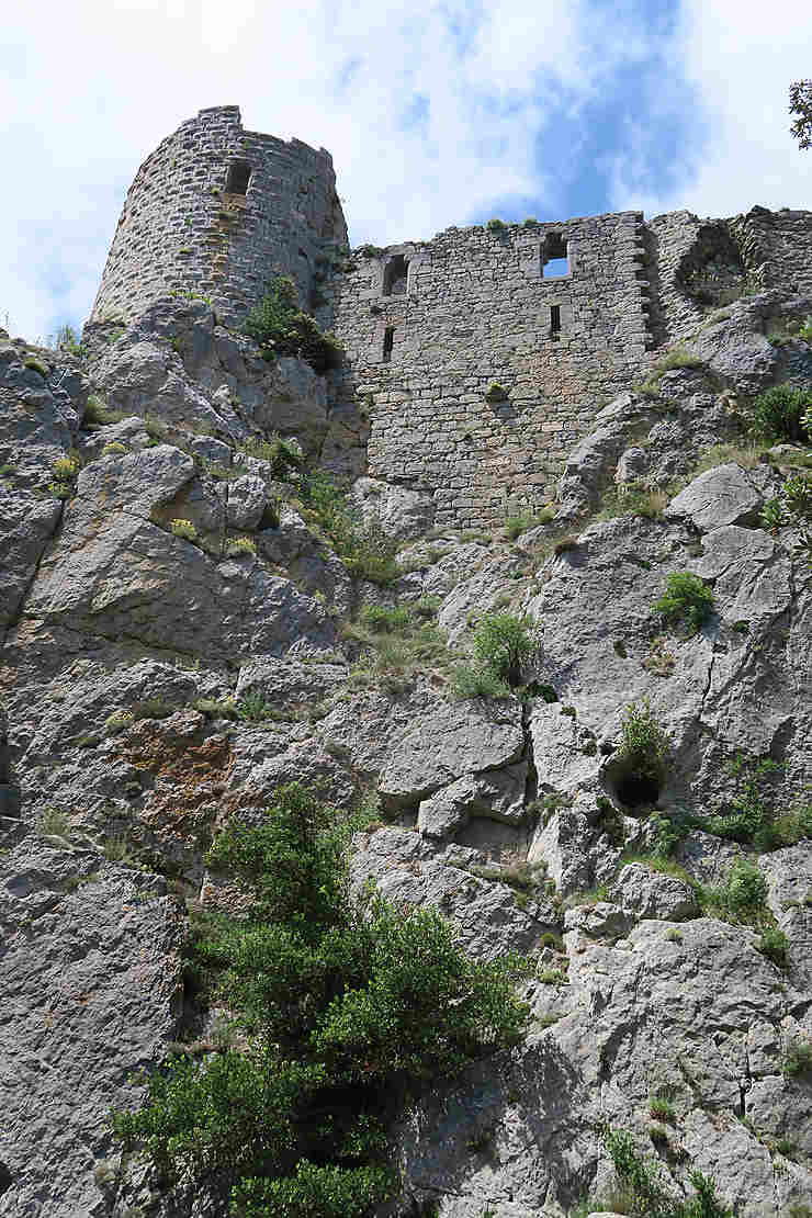 Haute vallée de l'Aude : Puilaurens et Puivert