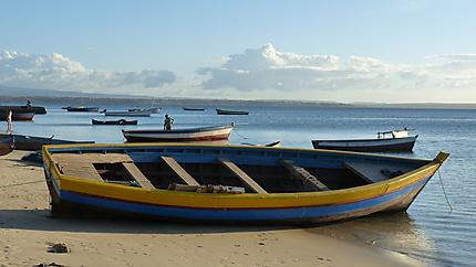 Sur la plage de Ramena