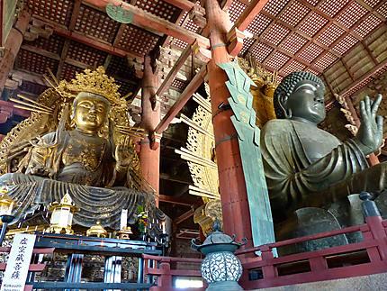 Temple Todai-ji de Nara - Bouddhas