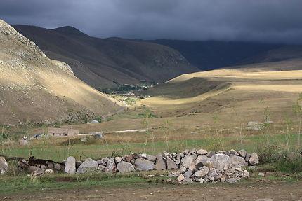 Route du lac Sevan au col de Selim, Arménie