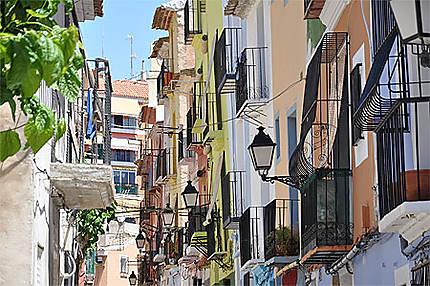 Villajoyosa tout près d'Alicante