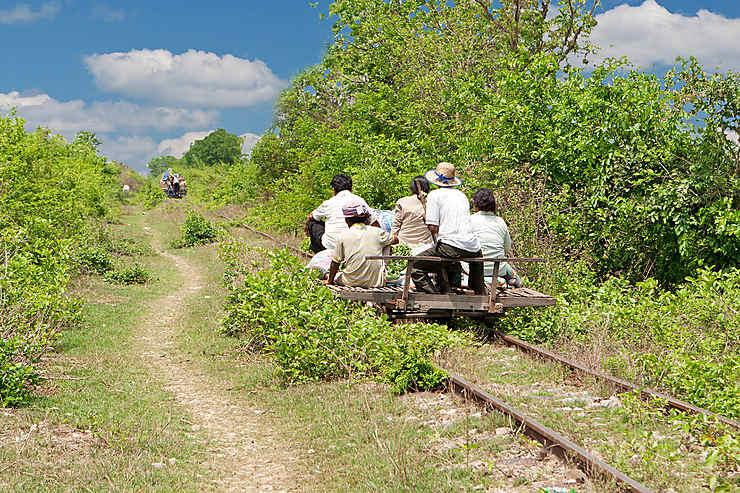 Bamboo Train - Cambodge