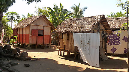 Village de pêcheurs à Nosy Komba