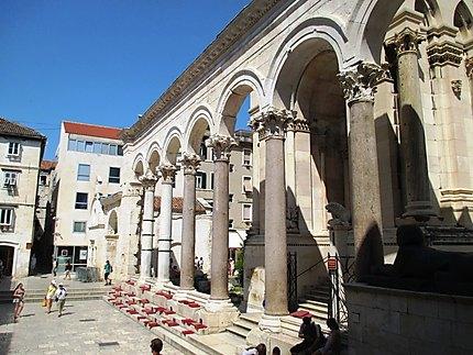 Façade Palais de Dioclétien