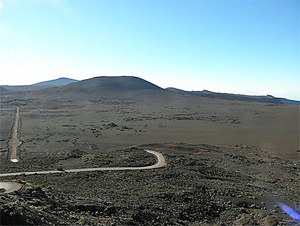 Route vers le volcan