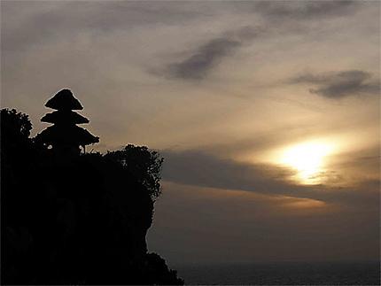 Coucher de soleil sur Uluwatu