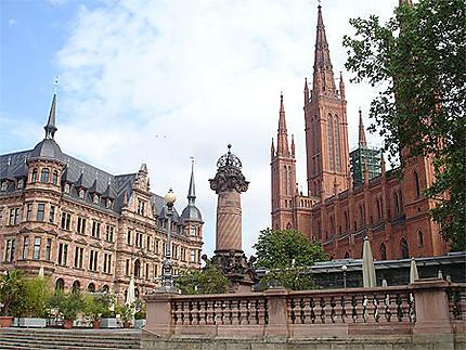 Centre-ville de Wiesbaden