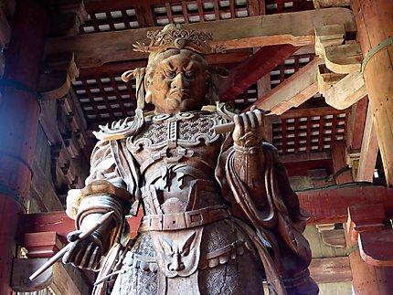 Temple Todai-ji de Nara - Statue en bois