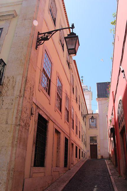Rue de Lisbonne (quartier Baixa et Rossio)