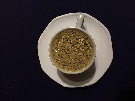 Café au lait à Trichy, Inde