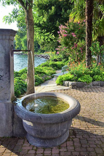 Fontaine à Montreux