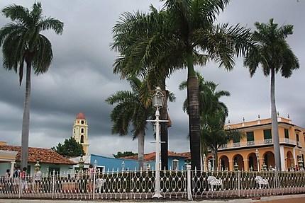 Orage sur Trinidad