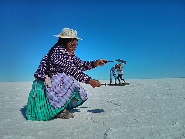 Tour de magie au Salar d'Uyuni, Bolivie